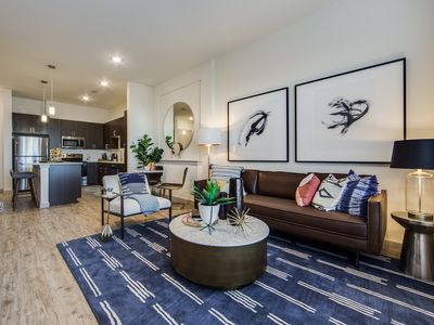 Photo for Lux condo in downtown, self check-in, sparkling clean