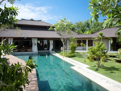 Photo for Shantika, Luxury 2 Bedroom Villa, large pool, close to beach Seminyak