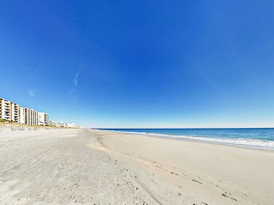 Location - The pristine sands of Myrtle Beach are at your doorstep.