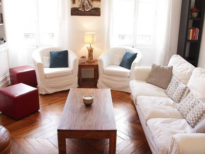 Photo for Beautiful apartment in the heart of Fontainebleau