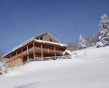 Just 20 minutes from the 3 Park City ski resorts. Cabin elevation 8,000 feet.