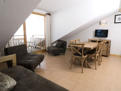 Photo for Residence Le Balcon des Airelles **** - 3 Room Duplex Apartment + Cabin 8 People