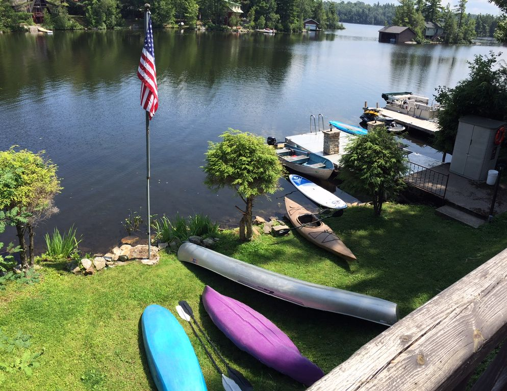 Trout Lake Waterfront Cottage In The Adirondack Park
