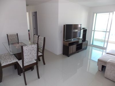 Photo for Ap1401: New, 2Q (1 suite), Wifi, garage, pool, balcony c barbecue and sea view
