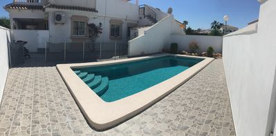 Photo for Large Villa With Patio, private pool, Air Con, wifi Satellite TV, BBQ.