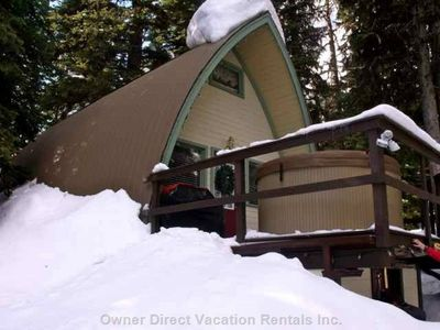 Photo for Private Yet Convenient Ski in/Ski out Chalet