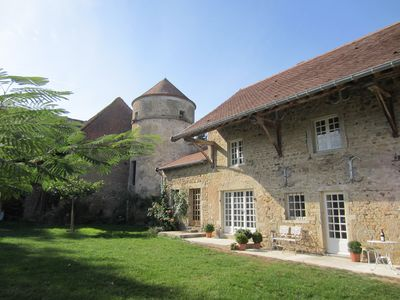 Photo for Romantic cottage near Cluny