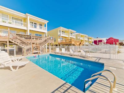 Photo for Beachfront Duplex, Private Pool, Up to $100 discount pass included!