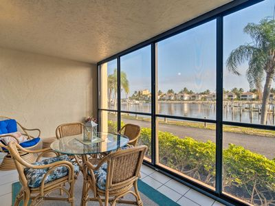 Photo for Quiet First-Floor Condo w/ Marina View & Pool