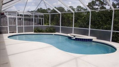 Screened in Pool!