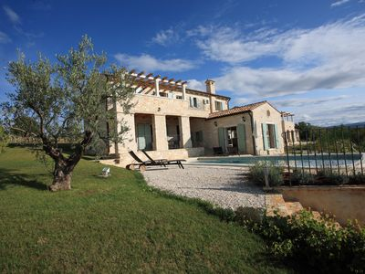 Photo for High quality Istrian stone villa, 4 bedrooms, private pool, WiFi