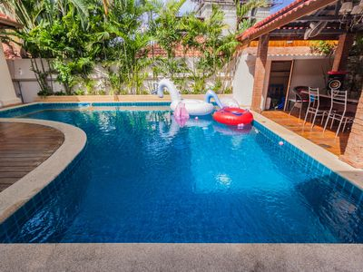 Photo for Cosy Beach 3 Bedroom pool Villa