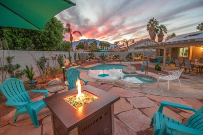 Backyard - Welcome to the Cathedral City! This desert home is professionally managed by TurnKey Vacation Rentals.