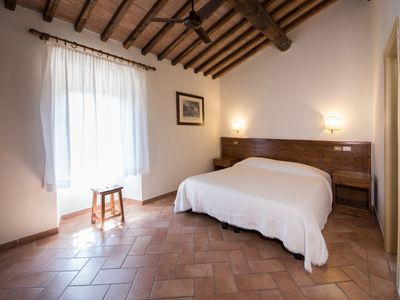 Photo for Economy double room in medieval Tuscan village (202A), on the first floor
