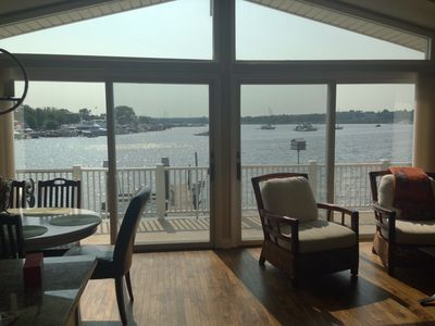 Photo for Waterfront-Saugatuck, Fab Views / Location / New Everything! And, Sanitized!