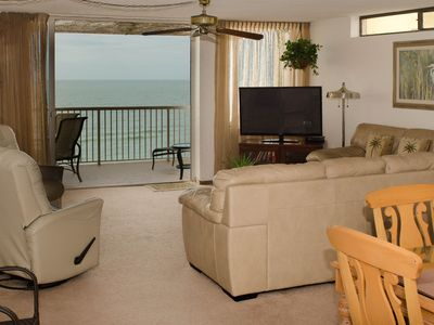Photo for SEAVIEW #405 - Gulf Front 2 Bedroom 2 Bath Condo