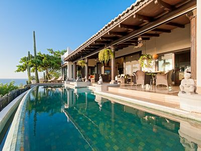 Photo for Luxury villa- views, infiniti pool, close to beach, shopping and dining, 3 BR