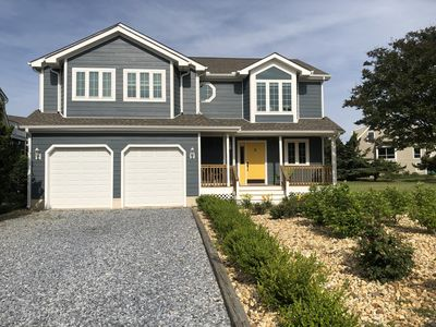 Photo for STEPS to the beach, in sought after Cape Shores with Private Pier