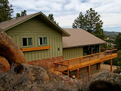 Photo for Old Man Lookout - Sleeps 12, Private but Close to Town and Rocky Mountain NP