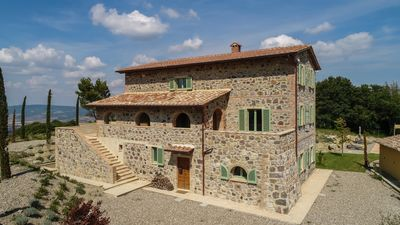 Photo for Villa Tuscania, in the heart of Val D'Orcia, with private pool