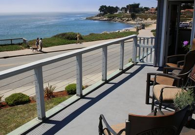 Upstairs Deck and Living Room View