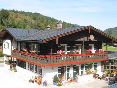 Photo for Holidays directly on the Königsseer Ache with stunning mountain views