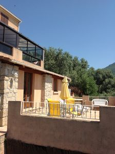 Photo for Nice apartment in villa RdJ with terrace - Olmeto - South Corsica - 3 to 4 pe