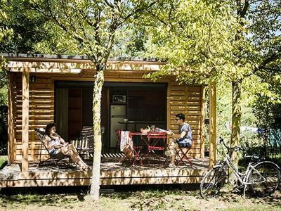 Photo for Campsite Huttopia Sarlat **** - Chalet Toronto 3 rooms 6 people