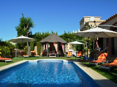 Photo for Fantastic Fully Equipped Villa With heated Private Pool And Sea Views