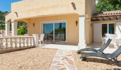 Photo for Villa near Saint Tropez - Sea view - Air conditioning and Wifi