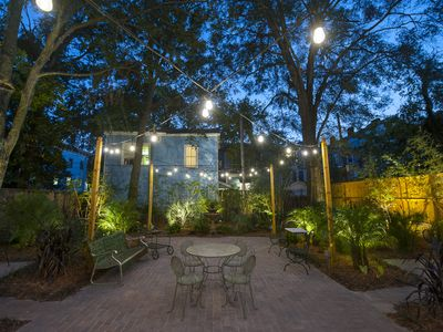 Photo for Gorgeous Garden Suite--One Level Living at Forsyth Park