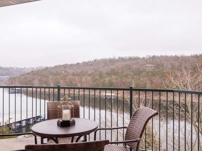 Photo for Lakefront Gem Nestled In The Trees With Endless Sunrises Over the Hills. Table Rock Lake!!!, Boating