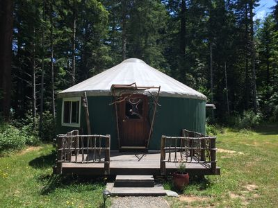 Yurt with Sunny Deck