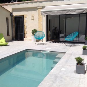 Photo for Aix house with swimming pool and garden, city centre (Thermal baths)