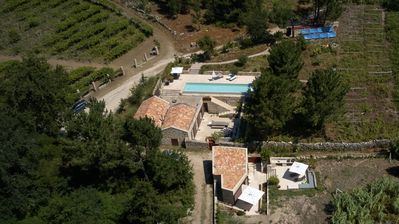 Photo for Idyllic location in nature 1km from the sea (4 / 5 bedrooms, sleeps 8 plus 3)