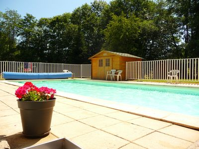 Photo for Studio in the mountains with heated pool and sauna