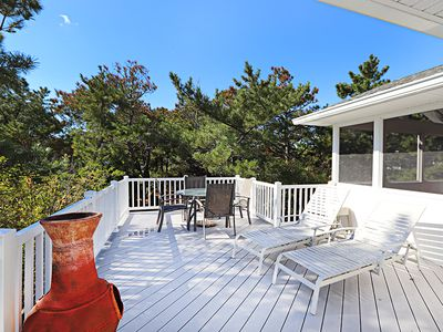 Photo for MX39D: Oceanside Middlesex Beach 5BR SFH - Walk to private beach!