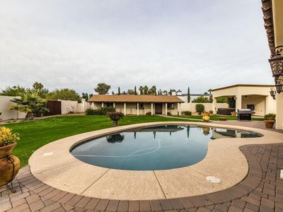 Photo for SPRAWLING HIGH END COMPOUND+ CASITA+POOL+PUTTING GREEN+HOT TUB+PRIME LOCATION