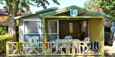 Photo for Camping Club Le Napoléon **** - 3-room air-conditioned chalet 6 people