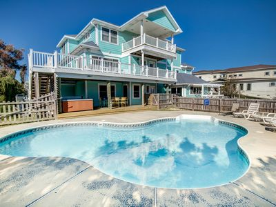 Photo for A Wish Upon A Star   884 ft from the Beach   Private Pool, Hot Tub