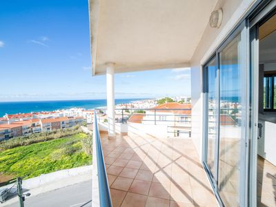 Photo for Spacious Ericeira Spacious Balcony apartment in Ericeira with WiFi, integrated air conditioning, ba…