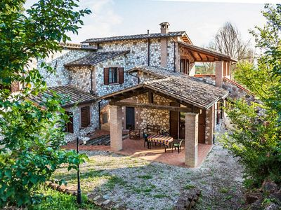 Photo for Renovated Stone Villa At The Hills Of Umbria