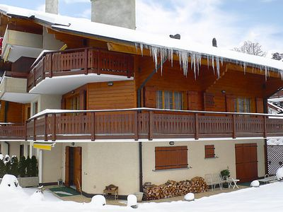 Photo for 4 bedroom Apartment, sleeps 8 in Villars-sur-Ollon with WiFi