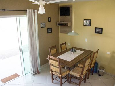 Photo for ... Cantinho de Zimbros - Bombinhas 2 bedrooms, air conditioning. 80 m from the beach.