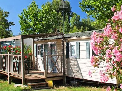 Photo for Camping Domaine Du Golfe St Tropez *** - Mobile Home Colorado 3 Rooms 6 People