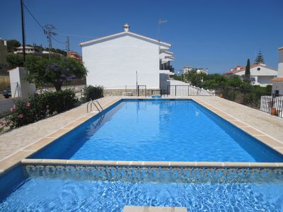 Photo for PEÑÍSCOLA: TOWNHOUSE WITH POOL