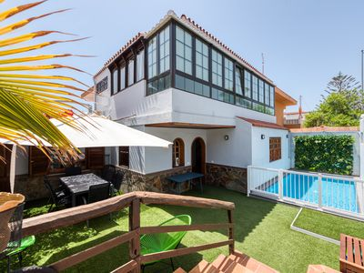 Photo for Great house private pool S.Agustín-Canariasgetaway