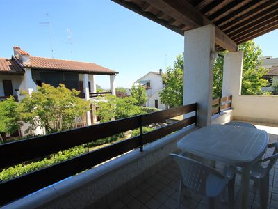 Photo for Large villa a few steps from the sea for 6 people and terrace with barbecue