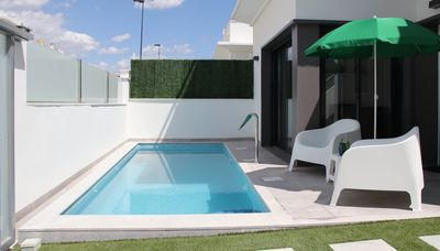 Photo for Private pool, Wifi 3km from the sea