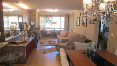 Photo for Apt 300m Covered Street. Fireplace, Water-heater. Central, Garage, Suite, 2D, Lift,